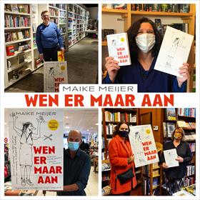 Maike Meijer tournee: honderd boekhandels in zeven dagen 7