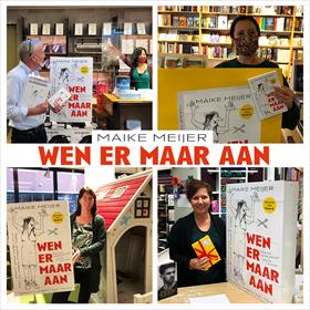 Maike Meijer tournee: honderd boekhandels in zeven dagen 2
