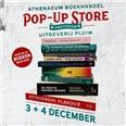 Uitgeverij Pluim stelt souterrain open voor pop-upstore Athenaeum