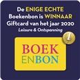 'Boekenbon winnaar Giftcard van het jaar 2020 Leisure en Ontspanning