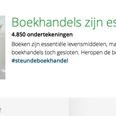 SGP en 4.851 individuen steunen boekhandels