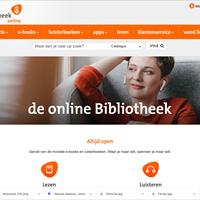 Fors meer uitleningen online Bibliotheek in 2020