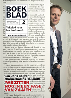 BOEKBLAD Magazine maart/april 2021
