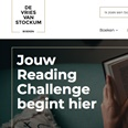 De Vries Van Stockum overdonderd door succes Reading Challenge