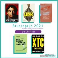 Shortlist Brusseprijs bekendgemaakt
