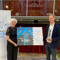 Merijn de Boer wint BNG Bank Literatuurprijs 2020
