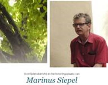 Marinus Siepel (Vermeer) overleden