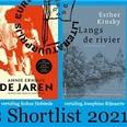 Shortlist Europese Literatuurprijs 2021 bekendgemaakt