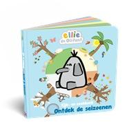 Tekenfilmfiguur Ellie de olifant krijgt boekenreeks bij Kluitman