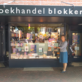 Louise Flick van boekhandel Blokker Heemstede