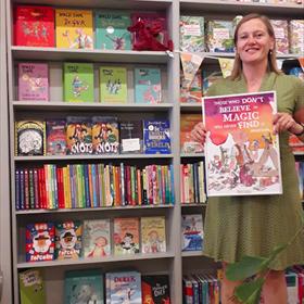Louise van Lil van de Kinderboekwinkel Amsterdam