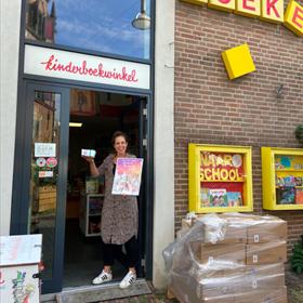 Ingeborg Simonetti van de Kinderboekwinkel Nijmegen