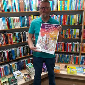 Wim Krings van boekhandel Krings, Sittard