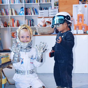 De kleine klantjes van kinderboekhandel De Kleine Kapitein in Rotterdam hebben er zin in