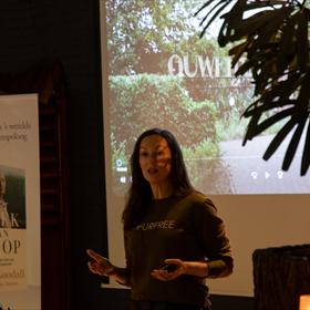 Miryanna van Reeden heeft het luisterboek van 'Het boek van hoop' ingesproken
