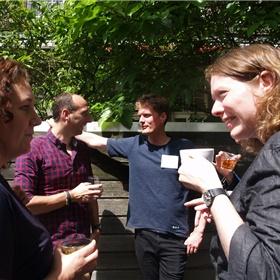 Annemieke Tetteroo (HarperCollins), Léon Groen (Spectrum), Robbert Hak (Storytel), Jennifer Boomkamp (Ambo|Anthos)