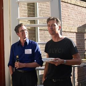 Jesse Keff (Athenaeum Boekhandel), Daan Beeke (Stichting Lezen)