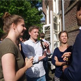 Sanne van der Meij (vertaler), Vincent Kolenbrander en Marcella van der Kruk (beide Atlas Contact)