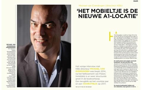 Michael van Everdingen (directeur KBb): 'Het mobieltje is de nieuwe A1-locatie'