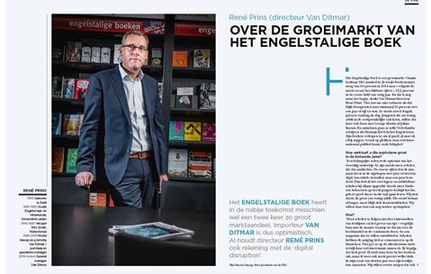 René Prins (directeur Van Ditmar) over de groeimarkt van het Engelstalige boek