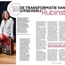 Algemeen directeur Adrienne Hak over de transformatie van uitgeverij Rubinstein
