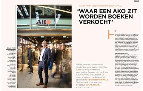 Sjaak Mark (algemeen directeur AKO): 'Waar een AKO zit worden boeken verkocht'