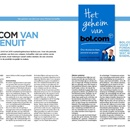 Vakliteratuur - 'Het geheim van Bol.com' door Michel Schaeffer (Atlas Contact)