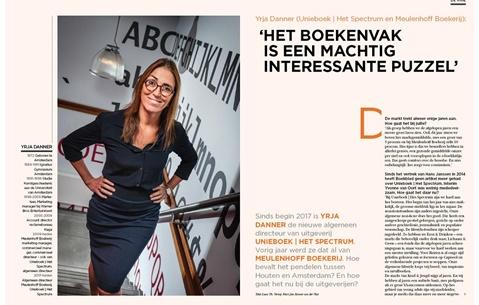 Yrja Danner (Unieboek|Het Spectrum en Meulenhoff Boekerij): 'Het boekenvak is een machtig interessante puzzel'