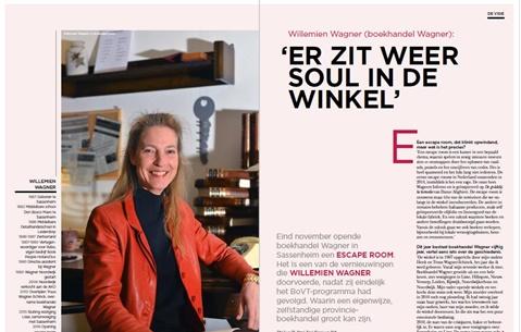 Willemien Wagner (boekhandel Wagner): 'Er zit weer soul in de winkel'