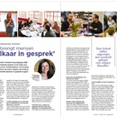Alexandra Koch (hoofdredacteur Schwob): 'Schwob brengt mensen met elkaar in gesprek'